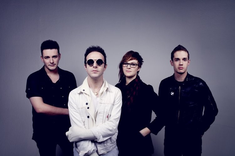 Glasvegas band photo